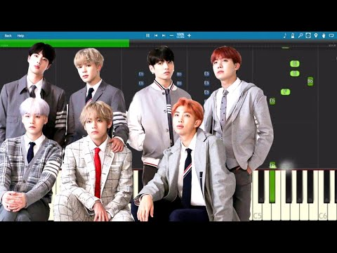 BTS & Charli XCX - Dream Glow - Piano Tutorial (BTS World Soundtrack Pt. 1) - NPT Music