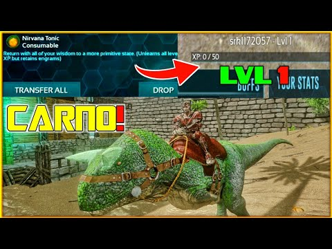 Download Ark Survival Evolved Mobile How To Use Nirvana Tonic Video