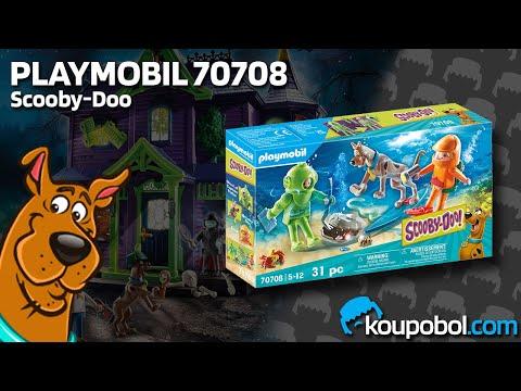 Vidéo PLAYMOBIL Scooby-Doo! 70708 : Scooby-Doo avec fantôme du capitaine Cutler