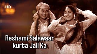 Reshami Salawaar Kurta Jaali Ka   Naya Daur (1957)   Minoo