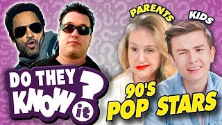 Do Teens Know 90s Pop Stars | Madonna, Smash Mouth, Lenny Kravitz