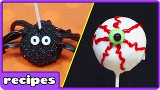 Halloween Cake Pops and Easy Desserts by Hooplakidz Recipes