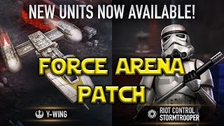 Star Wars: Force Arena - Y-Wing - Riot Control Stormtrooper Patch