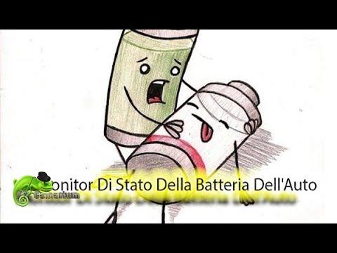 Monitor Di Stato Della Batteria Dell'Auto