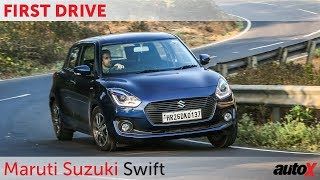 Maruti Suzuki Swift First Drive Video Review