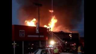 preview picture of video 'Incendie Patrick Morin, Lavaltrie 17 juillet 2012'