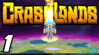 Crashlands E01 - Getting Started! (Gameplay / Playthrough / 1080p)
