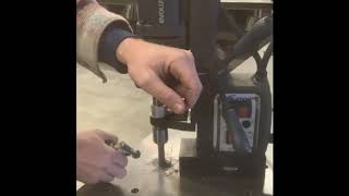 How to use magnetic drill