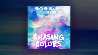 Gambar cover Marshmello x Ookay - Chasing Colors (ft. Noah Cyrus)