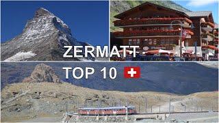 Zermatt, Switzerland, 10 THINGS TO DO, Matterhorn, Gorner Glacier, Matterhorn Glacier Paradise...