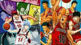 Slam Dunk X Kuroko No Basket『 Shouhoku VS Seirin ] 1080p