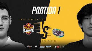 MAD Lions E.C. Colombia VS DP5 Makios | Cuartos de final | Golden League Clausura - Playoffs | Mapa 1