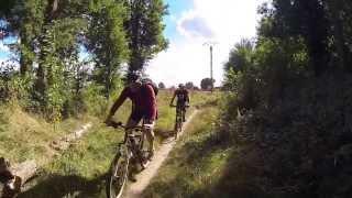 preview picture of video 'VTT sur le plateau de Saclay'
