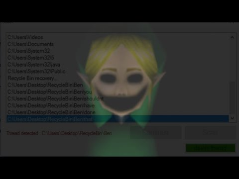THE GAME THAT ACTUALLY HAUNTS YOUR COMPUTER O_O -Ben5.EXE