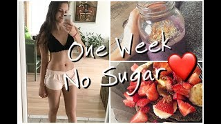 One Week No Sugar Challenge! Vegan & Healthy