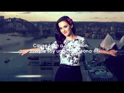 Katy Perry  Roar  Sub Español Official Video