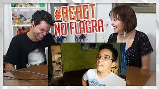 REACT FUI PEGO BATENDO UMA!!! ( ͡° ͜ʖ ͡°) |#DeniResponde13 (Deni)