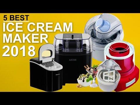 5 Best Ice Cream Maker Machine For Home In 2018