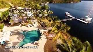 Villa Lagoonside 6 Bedrooms  Saint-Martin French Side