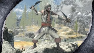 ▶Skyrim Special Edition: Assassin's Creed 4 Edward Assassin Robes ♦️MOD SHOWCASE♦️ | Killerkev ✔️