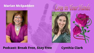 Youtube with Love in Your Hands Podcast: Break Free, Stay Free with Marian McSpadden sharing on Palm Reading Life Span Books For Entrepreneurs