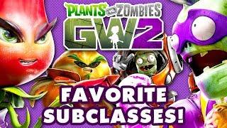 My Favorite Subclasses in Plants vs. Zombies: Garden Warfare 2!