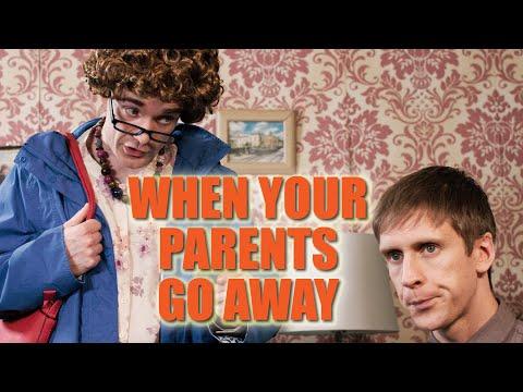 Když rodiče někam jedou