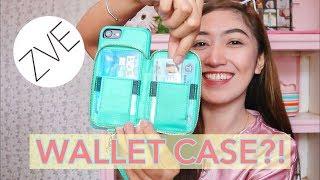 TRENDING! Zipper Wallet Phone Cases ft. ZVE + REVIEW