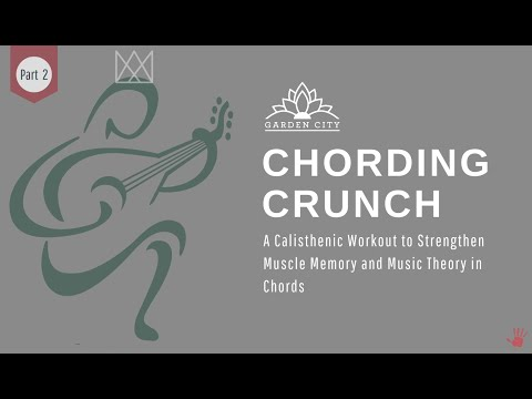 Chording Crunch Guitar Workout. A $900 Value Video Series, only $75.