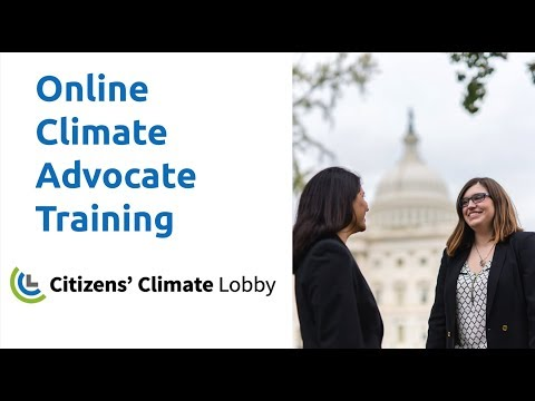 CCL Online Climate Advocate Training