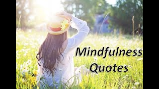 Best Quotes On Mindfulness