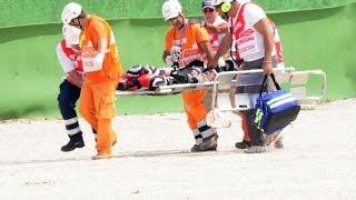 Emanuele Cassani Incidente In Pista - Altro Fatal Crash Misano