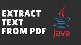 [Updated] PDFBox Example Code - How to Extract Text From PDF file with java