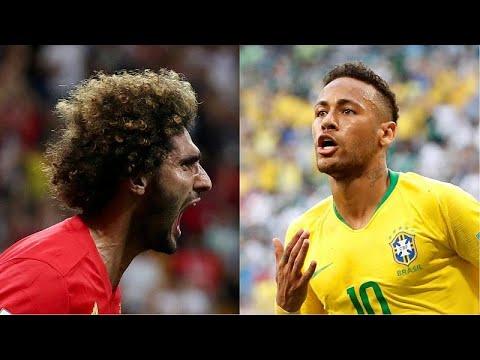 Μουντιάλ 2018: Βραζιλία vs Βέλγιο για μια θέση στα ημιτελικά…
