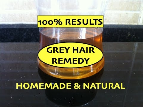 Video Home Remedy for Grey Hair / Magical Hair Oil / Prevent Premature Greying of Hair / Reverse Grey Hair