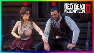 Dutch Van Der Linde Has A SECRET Love Romance You Don't Know About In Red Dead Redemption 2! (RDR2)