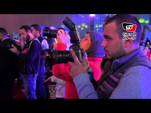 فعاليات مؤتمر «بناة مصر» بحضور «محلب»