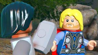 Lego Marvels Avengers Part 3 The Avengers Movie Walkthough Shakespeare in the Park