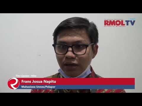 Laporkan Rektor ke KPK, Frans Josua Napitu Dirumahkan oleh UNNES