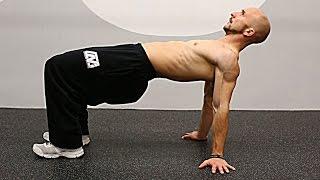 体幹&肩甲骨の可動域と安定性の向上に!【自重トレーニング10種目】