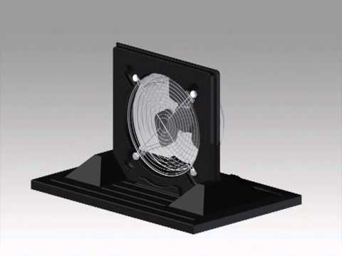 Portable Fan – Animated Assembly