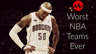 Top 10 Worst NBA Teams Ever