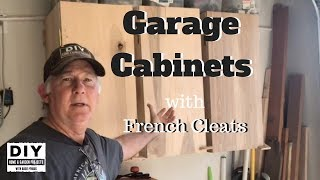 Cabinets For Garage With French Cleats