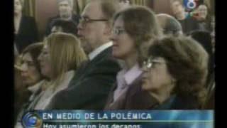 14 Mayo 2010  Jura De Los Decanos De La UNT  Pedro Ponce
