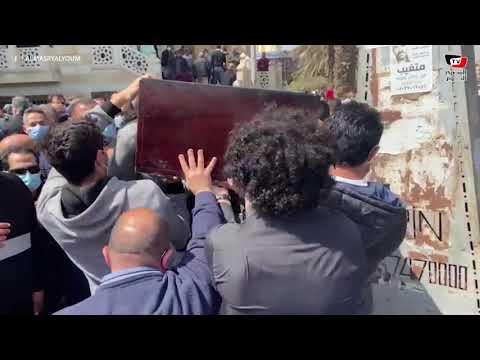 تشييع جنازة الكاتب الصحفي عباس الطرابيلي بحضور وزير الدولة للإعلام