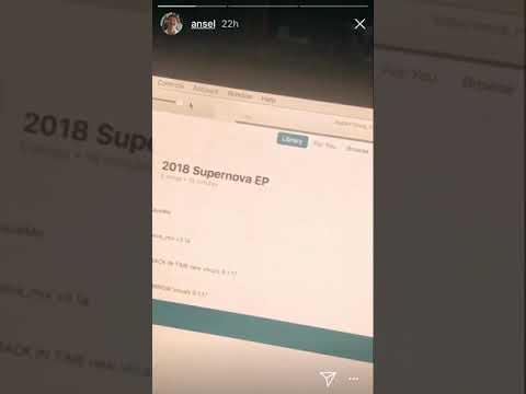 """Ansel Elgort """"Supernova"""" teaser"""
