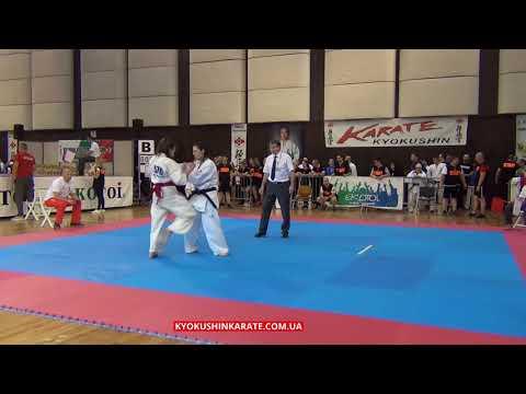 -55kg Iaroslavna Moreva (Russia) - Daria Szefer (Poland, aka) - The 32 European Championship