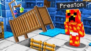 I Found Baby Preston's Secret Minecraft House!