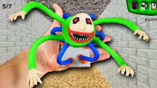 MAKING MONSTER BALDI in POLYMER CLAY!👽 Baldis Basics In Education And Learning