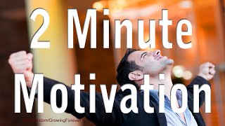 2 Minute Motivator, Attract Abundance Wealth Success Prosperity Money Motivational Video